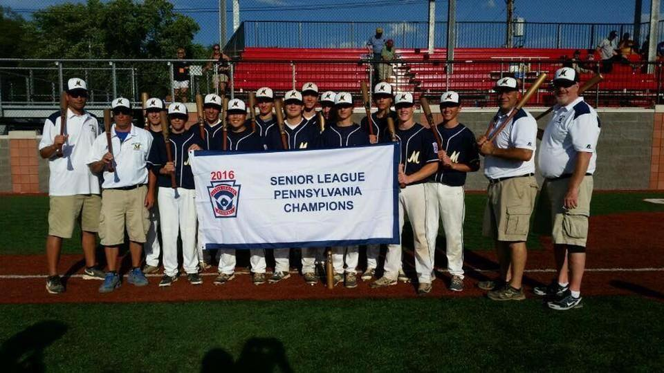 2016 Senior League PA state champs