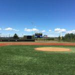 Showers Field 3rd base side