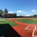 Showers Field home plate