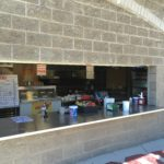 Dugout cafe at Showers Field