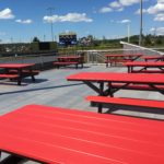 Showers Field party deck